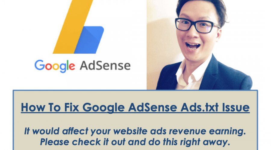 How To Fix Google Adsense Ad.txt Issue