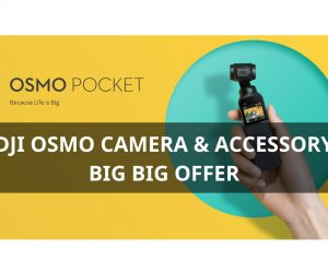 Up to 49% OFF – DJI Osmo Camera & Accessory Discount