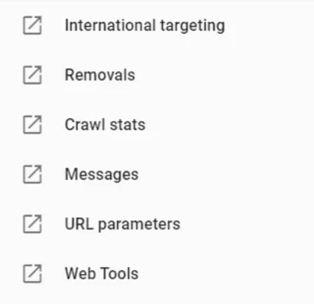 search console geo targeting