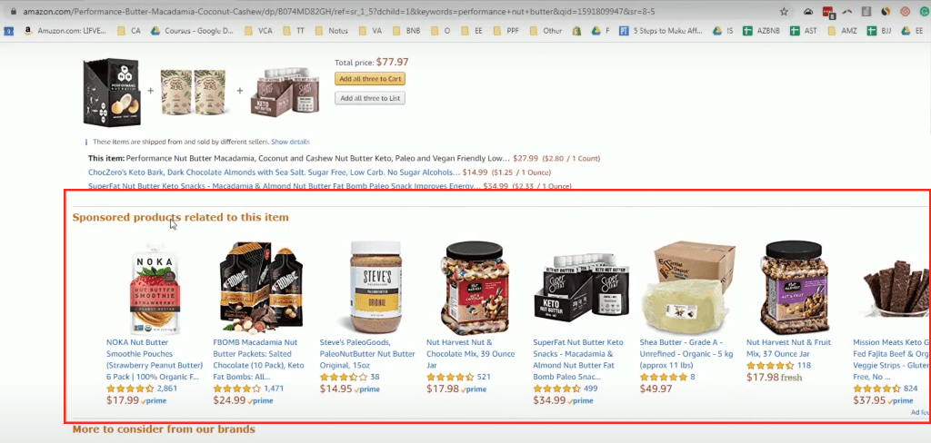 product related in product page