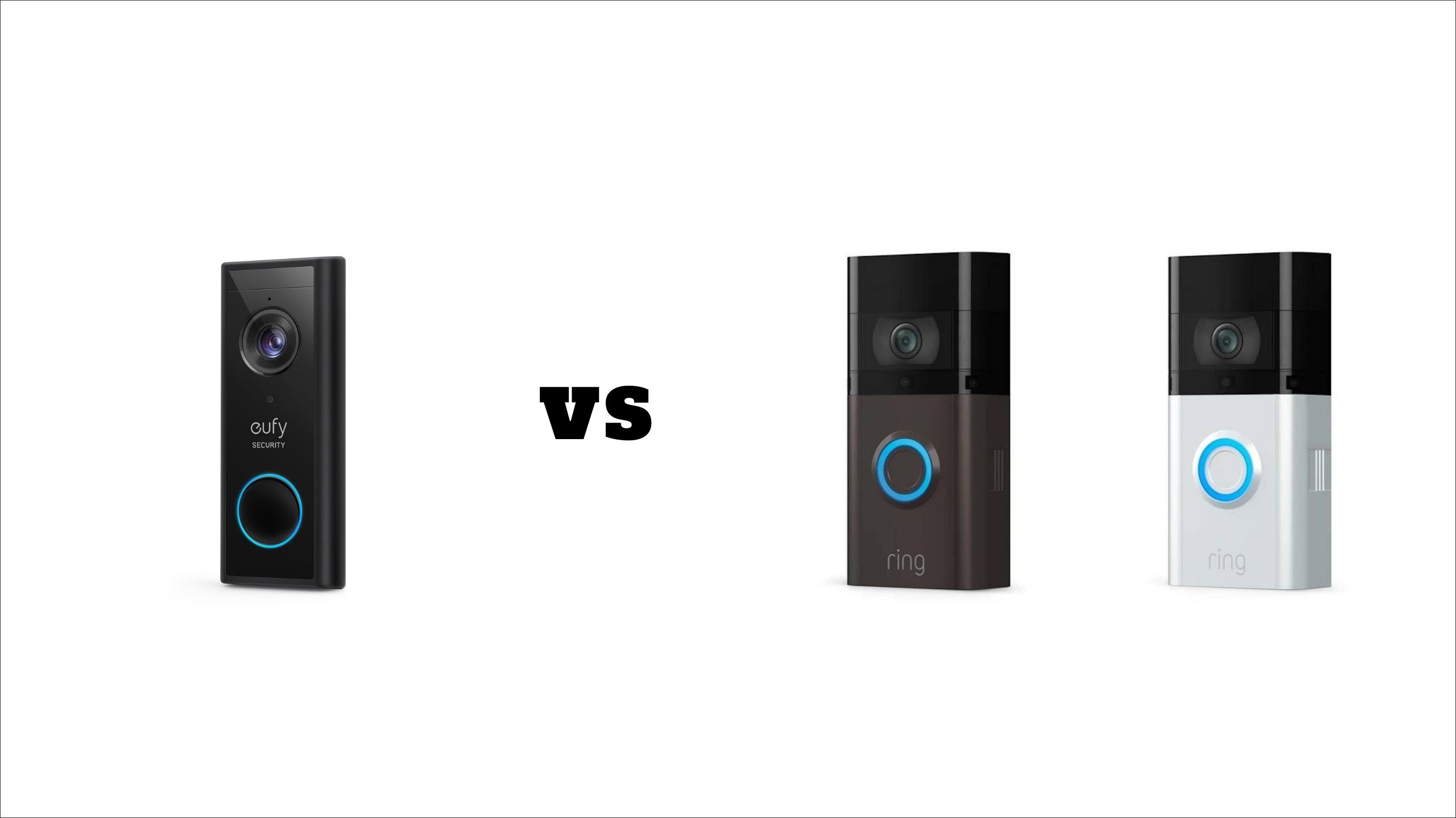 eufy video doorbell 2k vs ring video doorbell 3