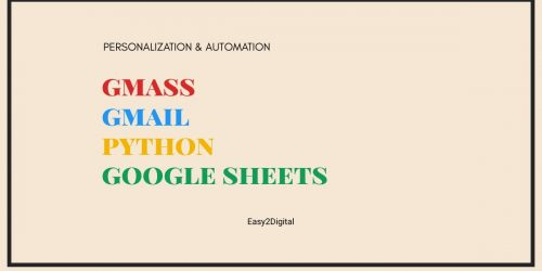 Personalize & Automate Email Outreach and Communication Using Gmail, GMass, Google Sheets