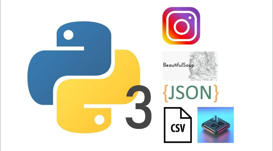 Python Tutorial 13 for Growth Hacker & Digital Marketer – Scrape Instagram Email, Followers, Posts, and More Using Selenium, BeautifulSoup, and JSON