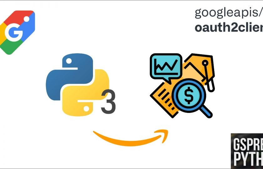 Python Tutorial 17: Get the Up-to-date Amazon Product Market Value by Amazon Price Tracker Using ASIN, gspread, Oauth2Client, and Google Sheet
