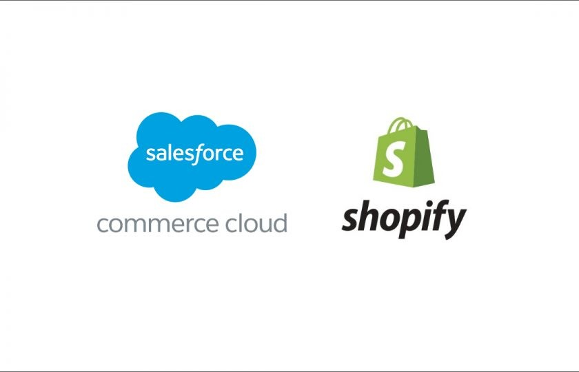 Shopify vs Salesforce Commece Cloud – Which One Is Better for Global eCommerce Business